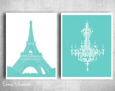 tiffany/paris inspired bedroom - Google Search