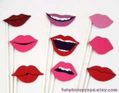 photo prop lip on Etsy, a global handmade and vintage marketplace.