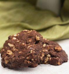 Triple-Chocolate-Cookies