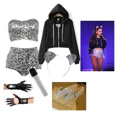 """Ariana Grande Honeymoon Tour 2015"" by lidiadiazjimenez ❤ liked on Polyvore"