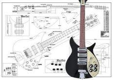 Rickenbacker 350® Electric Guitar Plan