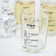 Soju+beer mixer ratio glass! Must have!