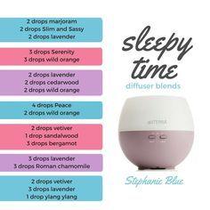 7 Essential Oil Recipes for Sleep & Relaxation as originally found on Stephanie Blue.