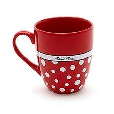 Disneyland Paris Minnie Mouse Spot Mug Disneyland Paris, Minnie Mouse Mug, Lenox China, Disney Kitchen, Precious Moments Figurines, Cute Coffee Mugs, Disney Home, Tea Time, Tea Pots