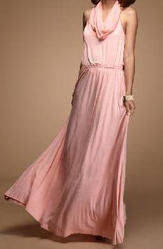 Long Pink Multi Wear Dress ~ Shipping Included