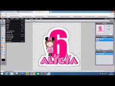 PAP #3 Como colocar contorno em imagem com PSCS2 e Photoshop online - YouTube