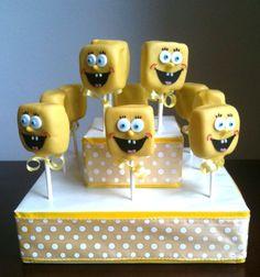 Sponge Bob Cake Pops