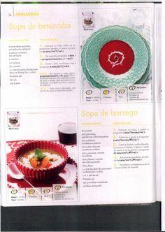 Livro 150 receitas as melhores 2011 Journal, Recipes, Cake, Design, Beet Soup, Illustrated Recipe, Onions, Spice, Thermomix