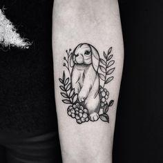 Little bunny of today   #nature #floral #linework #dots #dotwork #ink #inkedup #blackwork #blackttatoo #bunny #tattoo #tatts #instagood #instattoo #blxckink #tattoooftheday #rabbit