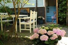 patio kesällä