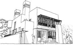 A residence by Architect Girish Doshi, Pune.