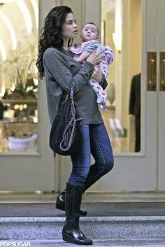 Jenna Dewan Baby Everly 2014