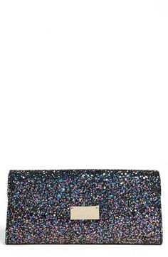 Jimmy Choo 'Riane' Glitter Clutch available at #Nordstrom