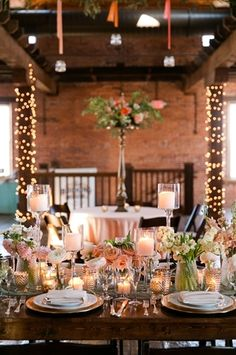 The Booking House - Manheim, PA ~If you want a wedding venue that is as unique as you are, the renovated Old Cigar Warehouse in the town of Manheim, Pa. is worth a visit. They have created the perfect rustic setting for your wedding and added a little glam to give the space an urban chic feel!