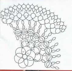 Znalezione obrazy dla zapytania frywolitki wzory