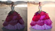 Adobe Photoshop Tutorials CC Creative Cloud How to retouch fashion photo...
