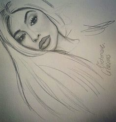 Kylie jenner Style drawing dessin réalisme – Tech Ideas for 2019 Pretty Drawings, Amazing Drawings, Realistic Drawings, Beautiful Drawings, Art Drawings Sketches, Kylie Jenner Zeichnung, Art And Illustration, Kylie Jenner Drawing, Art Du Croquis