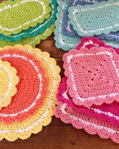 Maggie\'s Crochet · 20 Hot Pad Crochet Patterns