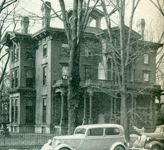Langdon Mansion - Elmira NY - Home of Olivia Langdon, wife of Mark Twain