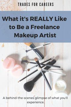 Wie man ein freiberuflicher Maskenbildner ist - Makeup Artist School - Make-Up Makeup Artist Career, Makeup Artist Resume, Becoming A Makeup Artist, Makeup Artist Tips, Wedding Makeup Artist, Professional Makeup Artist, Makeup Artistry, Makeup Classes Online, Free Makeup Classes