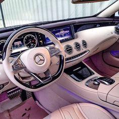 Mercedes S Class Interior