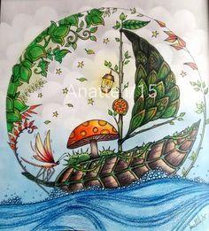 Coloring Books Adult Secret Gardens Prismacolor Johanna Basford Enchanted Envelopes Pencil Colouring In