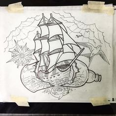Got this custom clipper ship/nautical piece up for grabs. Could look real good…