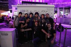 Pic of the Creatures and Kevin (Aka GoldenBlackHawk)