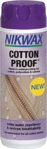 Nikwax | Cotton Proof - Wash-in waterproofing for cotton, polycotton and canvas