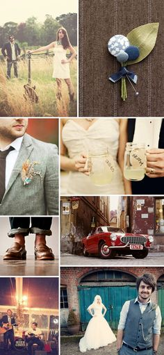 Rock My Wedding Grooms Inspiration Boards
