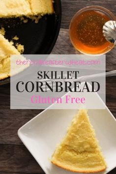 Southern comfort food at its finest! This quick and easy Gluten Free Cornbread is soft and tender with a beautiful, crispy, golden brown edge. Best Gluten Free Desserts, Gluten Free Sides Dishes, Gluten Free Recipes For Breakfast, Wheat Free Recipes, Bread Recipes, Gluten Free Cornbread, Free Fun, Southern Comfort, Golden Brown