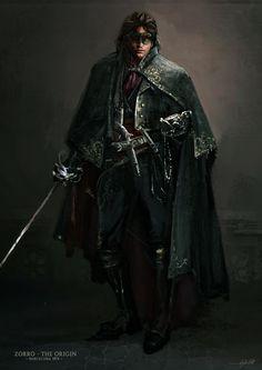 Zorro - The Origin, Joao Silva on ArtStation at https://www.artstation.com/artwork/zorro-the-origin-9f5ba90c-6fe4-4fb1-b996-79a1e53fc452