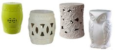 Knockout Knockoffs: Ceramic Garden Stools