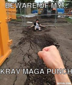Beware of my Krav Maga punch... #ShawnMobley