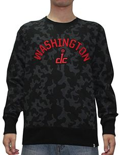 NBA Washington Wizards Mens Athletic Warm Pullover Sweatshirt XL Camo -- Read more reviews of the product by visiting the link on the image.