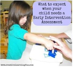 EI Corner: What to Expect When your Child Needs a Early Intervention Assessment - pinned by @PediaStaff – Please Visit ht.ly/63sNt for all our pediatric therapy pins