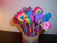 lisa frank pencils With the erasers you never wanted to use cuz it would mess them up LOL.man, I had a whole collection of Lisa Frank! Lisa Frank, Frank Frank, Lisa Lisa, Childhood Memories 90s, Childhood Toys, Right In The Childhood, Kristina Webb, 90s Nostalgia, Ol Days