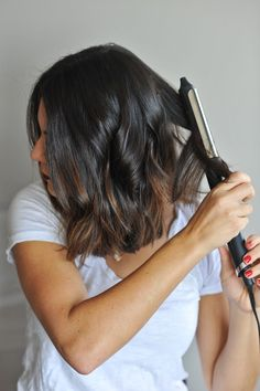 how to create beachy waves on short hair via @mystylevita - 1 (7)