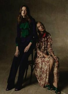 """Reset"" Gucci Resort 2016 photographed for Vogue Germany November 2015"