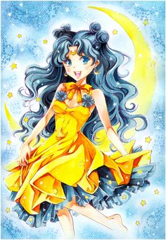 Sailor Moon: Luna by *Naschi on deviantART