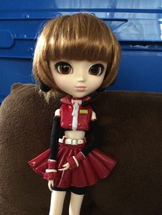 Pullip Doll: Vocaloid Meiko By Mes Crazy Experiences