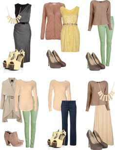 "soft autumn polyvore | Soft autumn looks"" by sabira-amira on Polyvore 