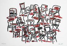 """Saatchi Art Artist Ralf Schmidt; Drawing, """"Restposten"""" #art"""