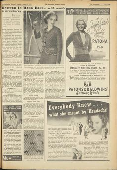 Issue: 13 May 1939 - The Australian Women's Wee...