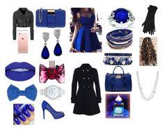 """A Blue Lunch Date"" by aryannaaaa on Polyvore featuring Furla, Viktor & Rolf, GUESS, FerrariFirenze, Mulberry, Missoni, M&Co, Lane Bryant, Glamorous and David Yurman"