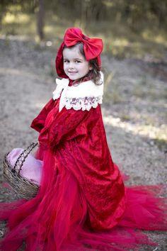 Woodland Red Riding Hood Birthday - Bella Paris Designs