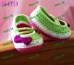 Aliexpress.com : Buy Baby Crochet shoes / handmade baby shoes / baby toddler shoes 0 12M custom 100% cotton 10pairs/lot from Reliable baby f...