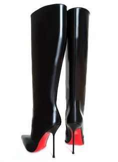 Gio Hel knee high leather boots 07