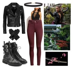 """""""Maze's Badass Outfit (Lucifer)"""" by karenvallecillo on Polyvore featuring art"""