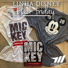 """Linha Disney Alto Giro na nossa black friday!  Venham meninas garantir seus lindos looks. Frete grátis acima de R$ 29900 com o cupom """"BLACKFRIDAY""""  _______________________________________________________ Nossos canais de compra: .  http://ift.tt/1PcILpP Whatsapp: 41 99144-4587  Loja virtual no face: Acesse missfitbrasilhf  USA Store: www.fitzee.biz. .  Worldwide shipping  Parcele em até 4x sem juros via Pagseguro  Frete grátis para todo Brasil nas compras acima de R$ 29900. Use o cupom…"""